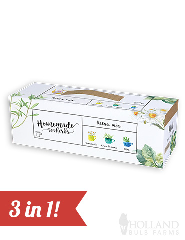 Homemade Herb Kit- Relax Mix Tea Herbs indoor herbal tea growing kit, grow herbs for herbal tea, herbal tea kit, chamomile tea kit, chamomile seeds, grow your own chamomile tea plant, chamomile tea grow kit, grow your own herb tea garden